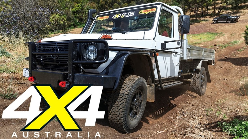 Mercedes Benz G Professional G300 2017 4x4 of the Year Contender 4X4 Australia