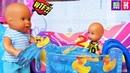 БАССЕЙН ДЛЯ ДИАНКИ И ДРУГИЕ ПРИКЛЮЧЕНИЯ Кати и Макса Сборник мультиков с куклами Барби