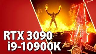 RTX 3090 + i9-10900K / Test in 12 Games   1080p, 1440p, 4K