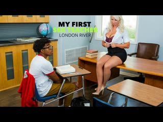 MyFirstSexTeacher - London River is willing to help her student, but she wants cock in return
