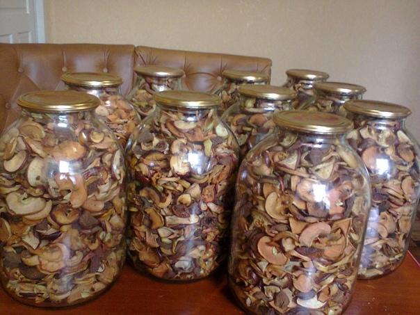 консервированные сухофрукты на компот Готовлю сушку на компот таким способом уже много лет, хранится долго 5 и более лет , не заводятся червячки и выглядит отлично. Сушу фрукты летом какие есть