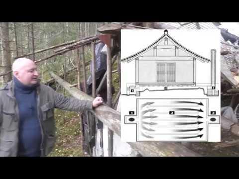 Хотим перезимовать в лесу! Строим дом с печкой подручными средствами. Лесные чудеса.