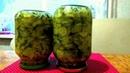 Салат из огурцов с луком Заготовка на зиму Консервация