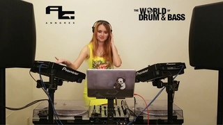AnnGree at The World of Drum & Bass - Home Invasion Part 2