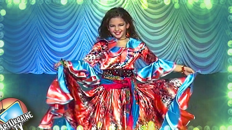Tribal Fusion Belly Dance (Gypsy Dance) | Milana Lukyanchikova Finale Juvenals