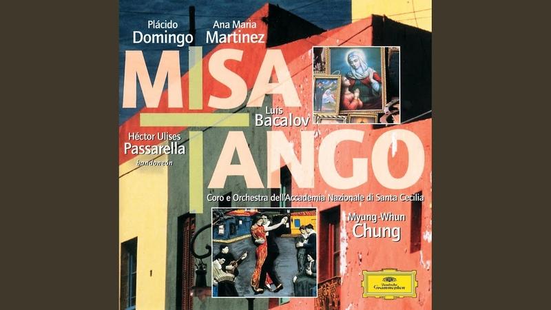Bacalov Misa Tango per mezzo soprano Bandoneon solista Coro misto e Orchestra Kyrie