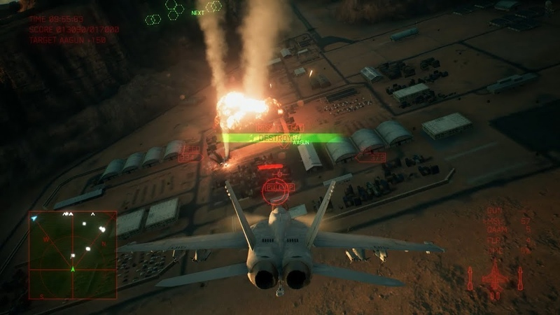 「ACE COMBAT(TM) 7: SKIES UNKNOWN」MISSION プレイ動画 Long Day