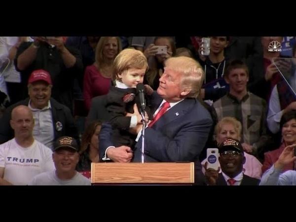 Trump's beste und wichtigste Rede die ihm zum Sieg im Wahlkampf 2016 verhalf