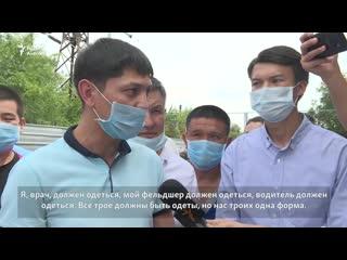 Пять дней назад похоронили водителя  умер от COVID. Медики неотложки в Алматы просят о помощи