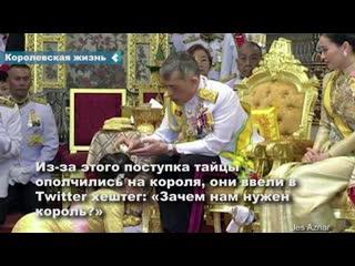 Король Таиланда самоизолировался за границей с десятками любовниц