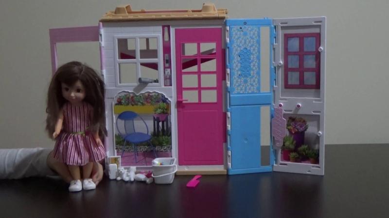 Lollas Barbie Evinde Evcilik Oynuyor! Eğitici ve Eğlenceli Çocuk Videosu