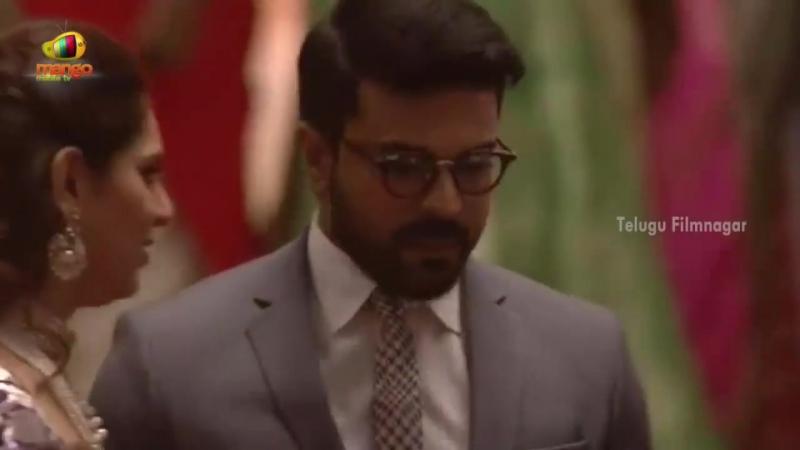 Рам Чаран Telugu Filmnagar Ram Charan Chiranjeevi Spotted with New Look at TSR Grand Son Sangeeth Ce 2037035359703456