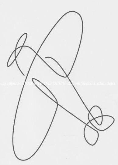 РИСУНКИ-НЕОТРЫВАЙКИ Учимся рисовать, не отводя руки.