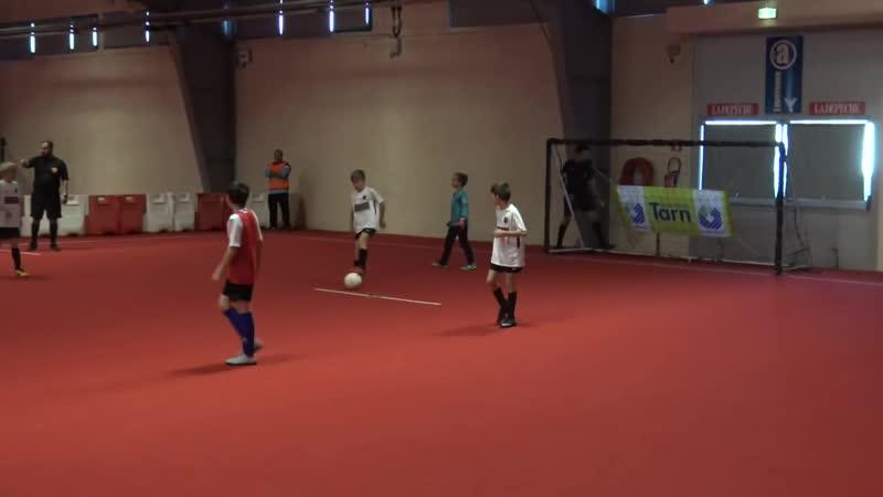 Futsal tournoi international u11 Albi US St Sulpice contre Saint Maximin Futsal