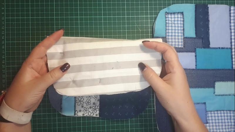 утилизация хлам в дело классная техника diy patchwork пэчворк