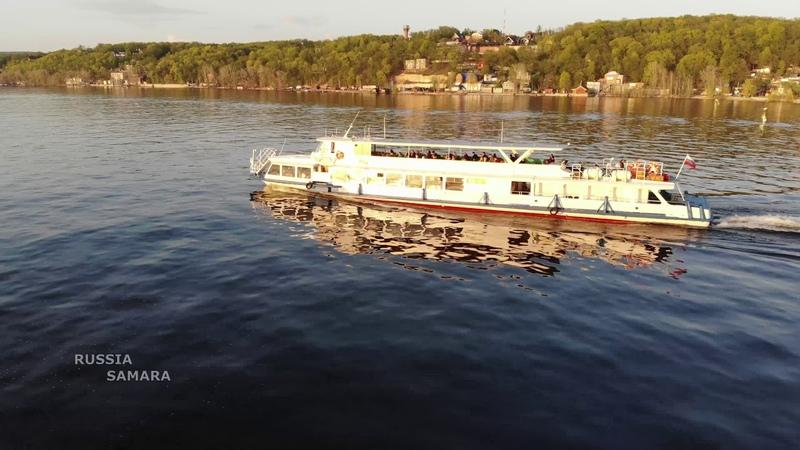 Река Волга поляна Барбошина Самара Volga river Russia