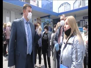 В Курске митинговали предприниматели