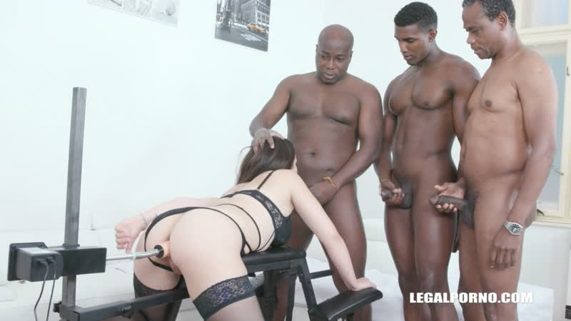 Zara Lick ( Obedient slut Zara Lick enjoys pissing and anal with with black guys IV505) 2020, Interracial,