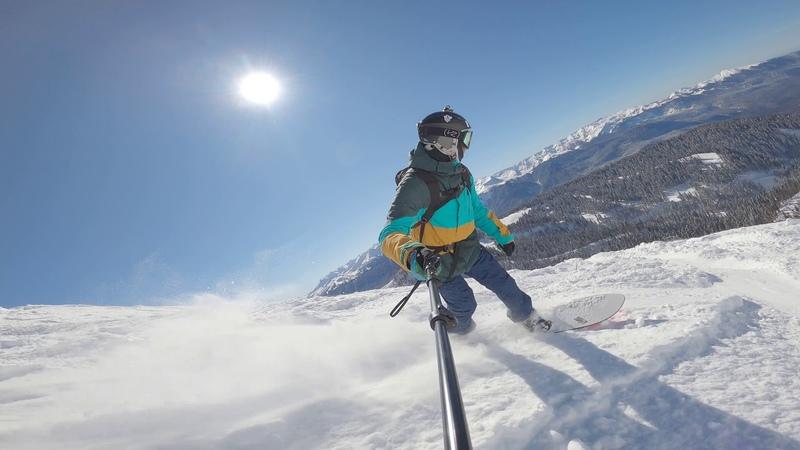 Тест сноуборда Korua Shapes Dart после снегопада на Роза Хутор. KORUA VS JONES PowderDay Freeride
