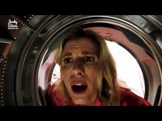 Мачеха застряла в стиральной машине я воспользовался