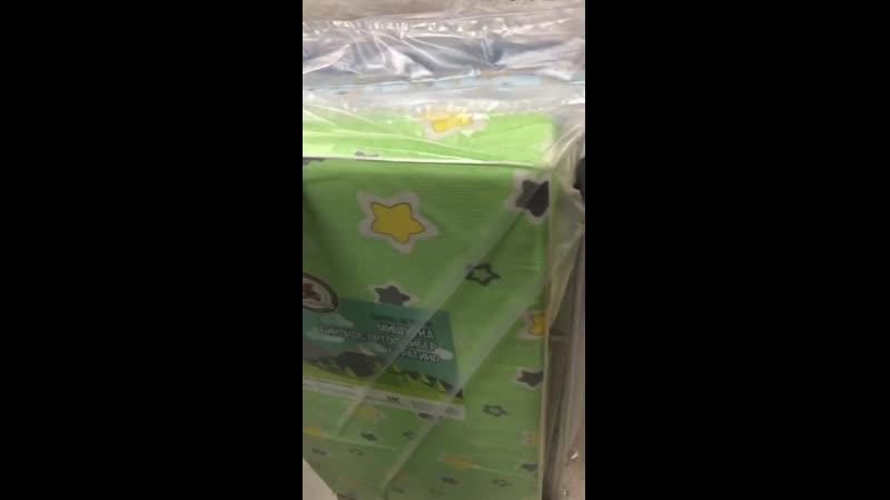 Детские матрасы 60х120 кокос холлофайбер