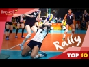 TOP 10 BEST and LONGEST Womens Volleyball Rallies