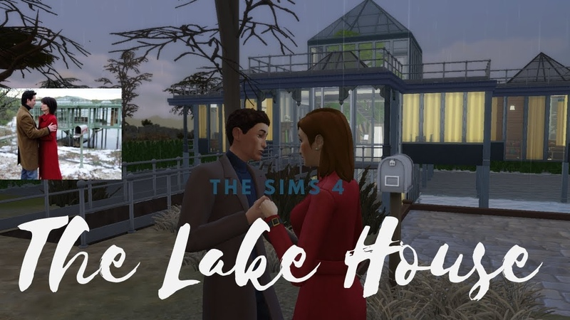 The Lake House in The Sims 4 фильм Дом у озера в Симс 4