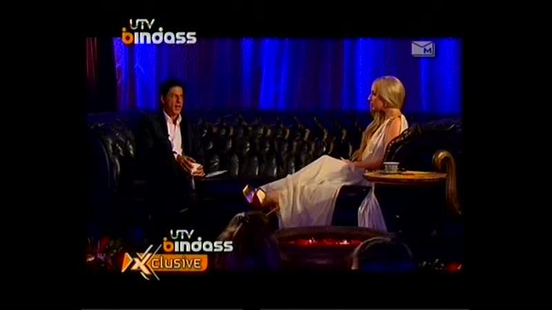 Интервью с Шахрукх Кхан (28.10.2011)