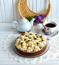 Черничный тарт с лавандой