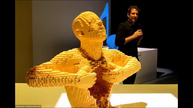 Удивительные Скульптуры из Лего