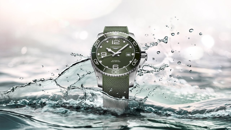 Longines HydroConquest a new look in green