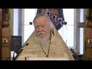 Протоиерей Димитрий Смирнов Проповедь о нашей сумасшедшей цивилизации