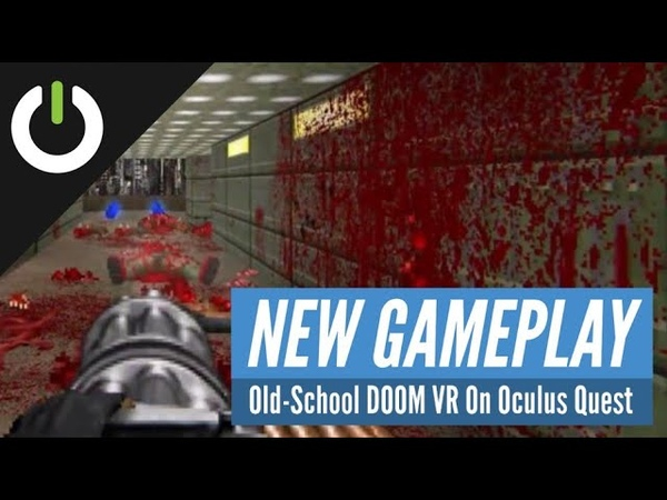 QuestZDOOM Old-School DOOM VR Gameplay On Oculus Quest! (DOOM, DOOM II, Heretic, And More!)