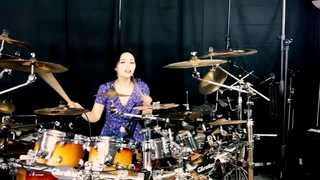 SKID ROW - Youth gone wild drum-only(cover by Ami Kim)(107-2)