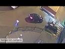 Вечером 12 августа в районе остановки Родина велосипедист столкнулся с автомобилем на зебре педист на капоте Остановка Роди