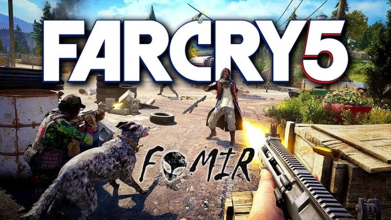 Прохождение FarCry 5 на GTX 750 1gb ( Часть №1 )