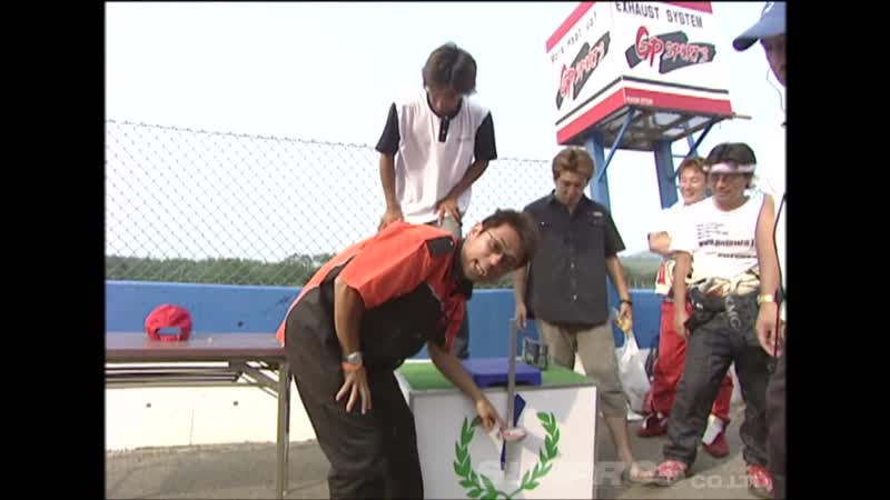 Video Option 126 — D1GP 2004 Rd.3 at Ebisu Circuit Physical Fitness Measurement.