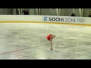 Julia LIPNITSKAYA LP Moscow Junior Championships 2010