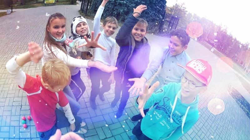 Дети танцуют и жонглируют на улице (парк Архипова, Екатеринбург) DnB Skanking