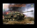 Unboxing and assemble Takom 1 35 Jagdpanther G1