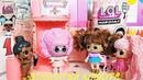 ВОЛОСАТЫЙ КОНКУРС КУКОЛ ЛОЛ! СЮРПРИЗ ОТ ПАНКИ И КТО ТУТ НАСТОЯЩИЙ Куклы мультики ЛОЛ Hair Goals