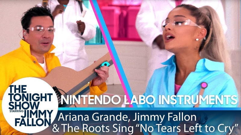 Ariana Grande, Jimmy The Roots Sing