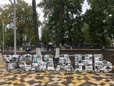 Городской парк открылся в Усмани после реконструкции