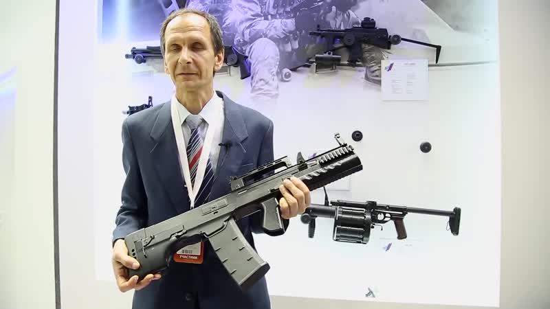 Новинка! Крупнокалиберный автомат 12,7 мм ШАК 12