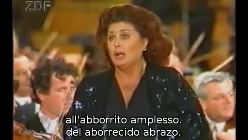 Anna Tomowa Sintow Surta è la notte Tutto sprezzo de Ernani de Verdi Daniel Nazareth 1992
