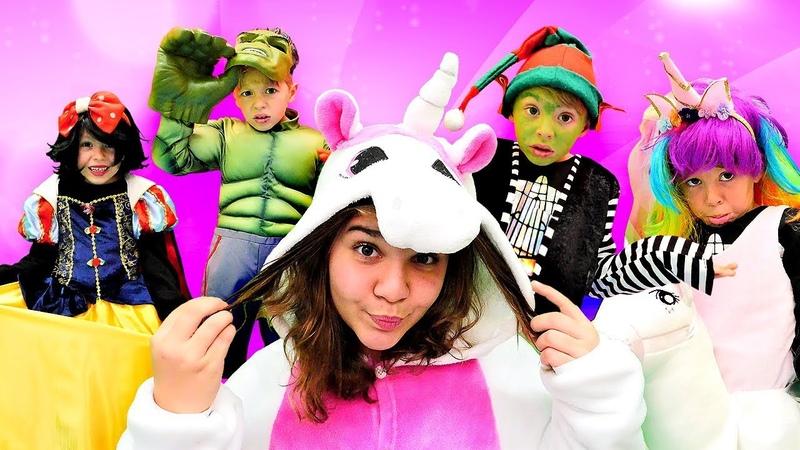 Hulk mı Unicorn mu yoksa Pamuk Prenses mı? Yılbaşı partisi i in kostüm se iyoruz