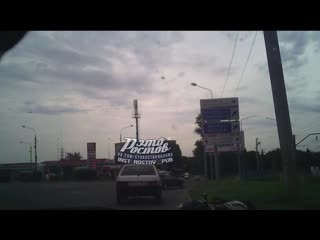 На Менжинского, 41А водитель скутера врезался в автомобиль ВАЗ  - Это Ростов-на-Дону!