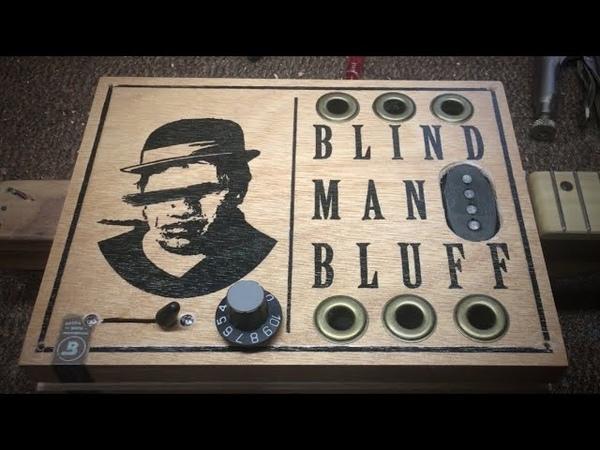 Blind Man's Bluff - Cigar Box Guitar RETROFIT