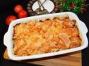 Куриная запеканка с помидорами и сыром