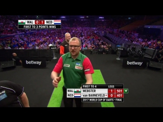 Wales vs Netherlands (PDC World Cup of Darts 2017 / Final)